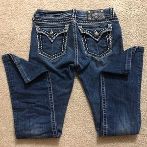 MISS ME  bootcut jeans size 23